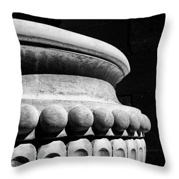 Urn At The Cathedral Throw Pillow
