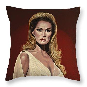 Ursula Andress 2 Throw Pillow