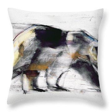 Ursus Maritimus Throw Pillow