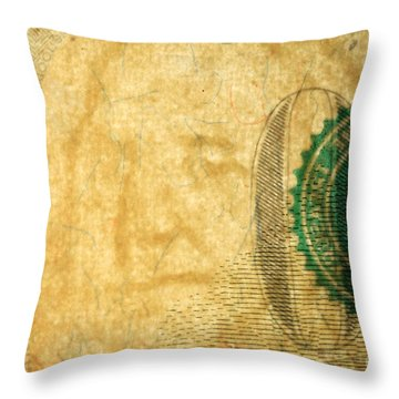 Us 100 Dollar Bill Security Features, 4 Throw Pillow