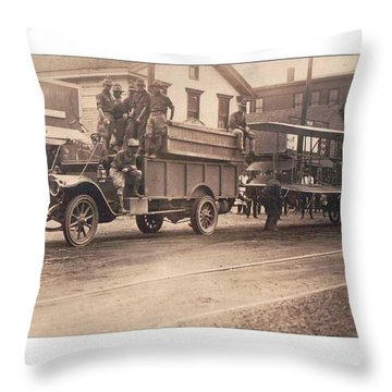 U.s. Army Wright Model B-flyer 1912 Throw Pillow