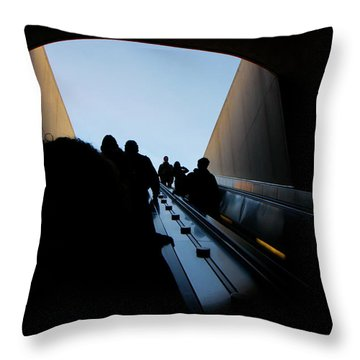 Throw Pillow featuring the photograph Us Capitol South by KG Thienemann