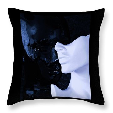 US Throw Pillow by Elf Evans