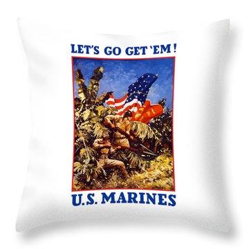 Marine Corps Throw Pillows