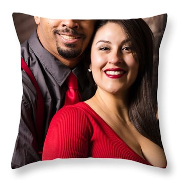Us Throw Pillow by Marlo Horne