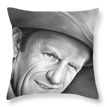 Gunsmoke's Matt Dillon Throw Pillow