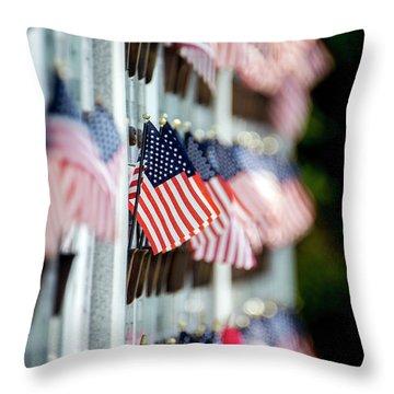 Us Naval Academy Columbarium Memorial Throw Pillow