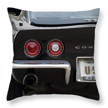 Usa-1 Throw Pillow by Dennis Hedberg