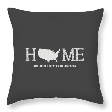 Usa Home Throw Pillow