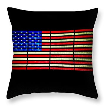 #usaincolor #nyc #timessquare #imissnyc Throw Pillow