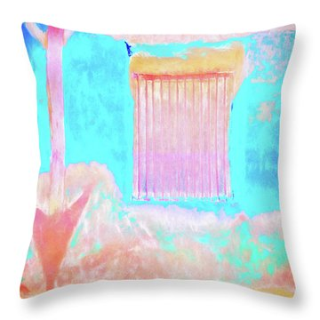 Used To Be Larry's Painterly Effect Throw Pillow