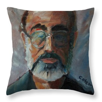 Throw Pillow featuring the painting Used To Be Me by Gary Coleman