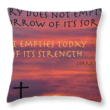 Useless Emotions Throw Pillow