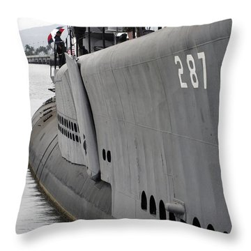 U.s.s. Bowfin, Pearl Harbor Throw Pillow