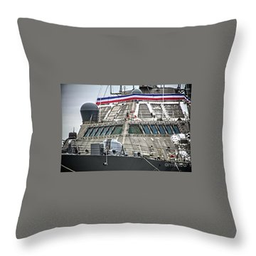 Uss Little Rock Lcs 9 Throw Pillow