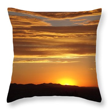 Usualutah Throw Pillow by Michael Cuozzo