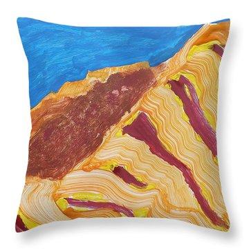 Utah  Canyons Throw Pillow by Don Koester