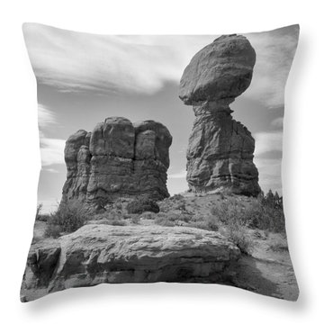 Utah Outback 31 Throw Pillow by Mike McGlothlen