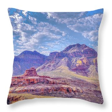 Utah Revisited Throw Pillow