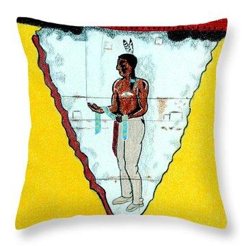 Ute Trading Post Throw Pillow