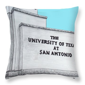 Utsa Throw Pillow by Frederic Kohli