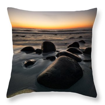 Uttakleiv Rocks Throw Pillow