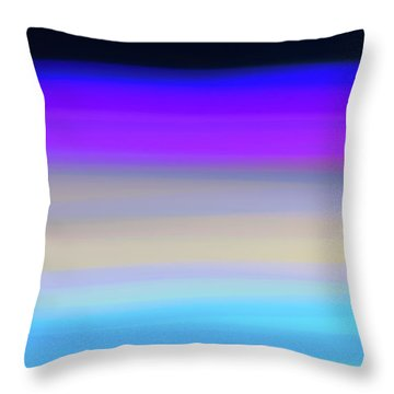 Uv Dawn Throw Pillow