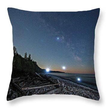 UV Throw Pillow