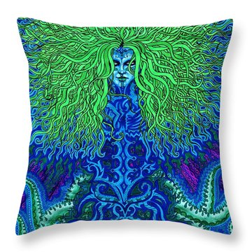 Uyulala Throw Pillow