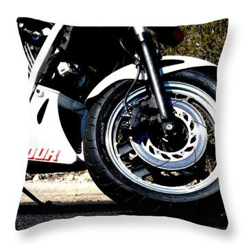 V Four Throw Pillow by David S Reynolds