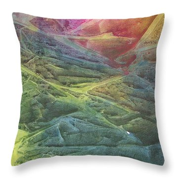 Vaarn Throw Pillow by Jackie Mueller-Jones