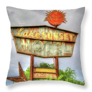 Vacancies For Sure Throw Pillow