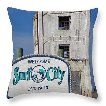 Vacation Destination  Throw Pillow