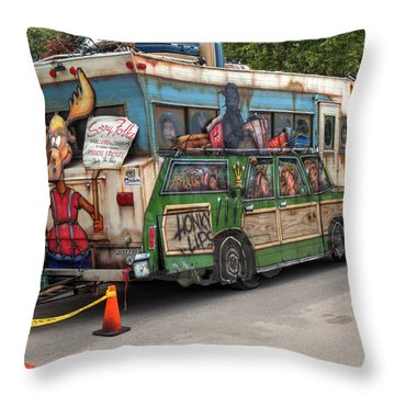 Throw Pillow featuring the photograph Vacation by Michael Colgate
