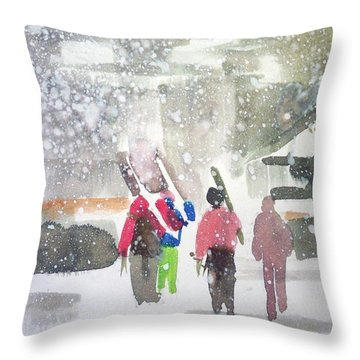 Vail,colorado  Throw Pillow