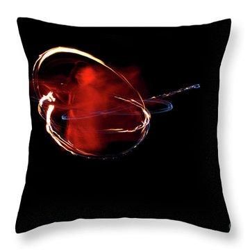 Vajra Dakini 1 Throw Pillow by Agnieszka Ledwon