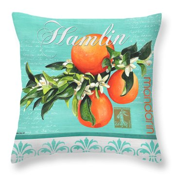 Valencia 2 Throw Pillow
