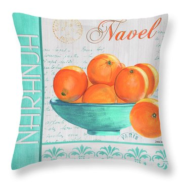 Valencia 3 Throw Pillow