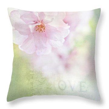Valentine Love Throw Pillow