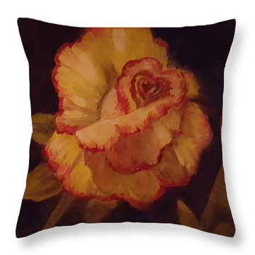 Valentine Rose 2 Throw Pillow