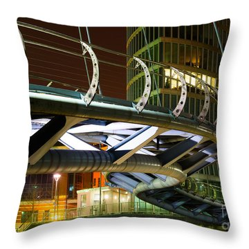 Valentines Bridge, Bristol Throw Pillow