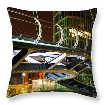 Valentines Bridge, Bristol Throw Pillow
