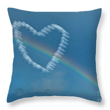 Valentines Day 1 Throw Pillow by Edward Sobuta