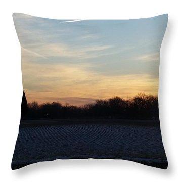 Valentines Sunrise Throw Pillow