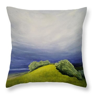Valle Vista Meadow Throw Pillow