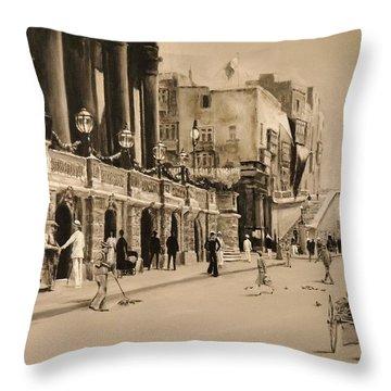 Valletta Entrance 1935 Throw Pillow