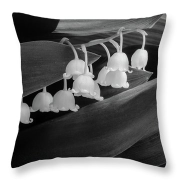 Valley Bells Throw Pillow
