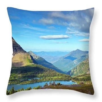 Glacier National Park Throw Pillows
