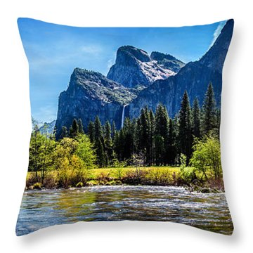 Tranquil Valley Throw Pillow