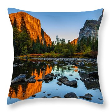 Cathedral Rock Throw Pillows